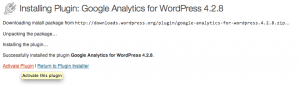 Google Analytics for WordPress 4